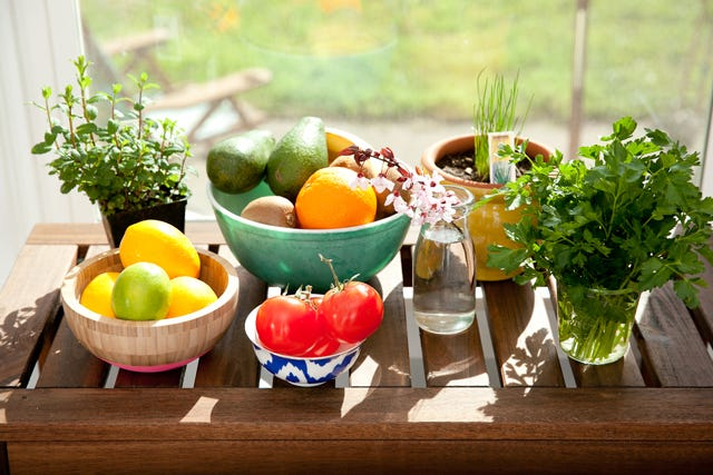 Fruits, Vegetables - Healthy, Nutritious Eating