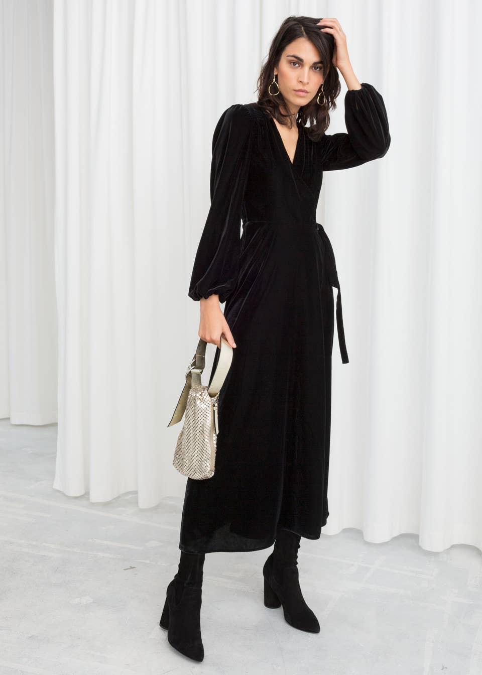 Nothing Says Winter Like These 18 Velvet Dresses
