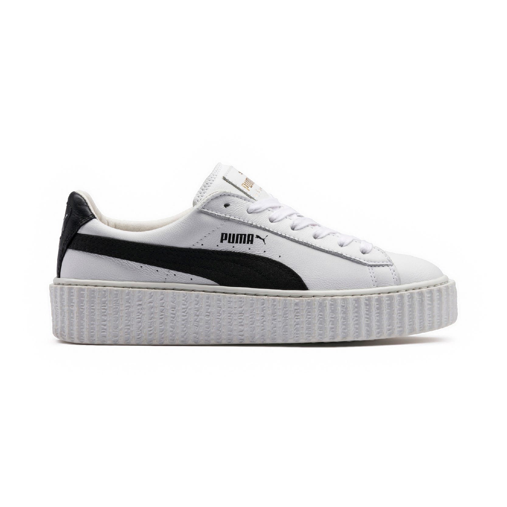 buy popular 97e77 bd174 Rihanna Fenty Puma Creeper Sneaker New Black White Drop