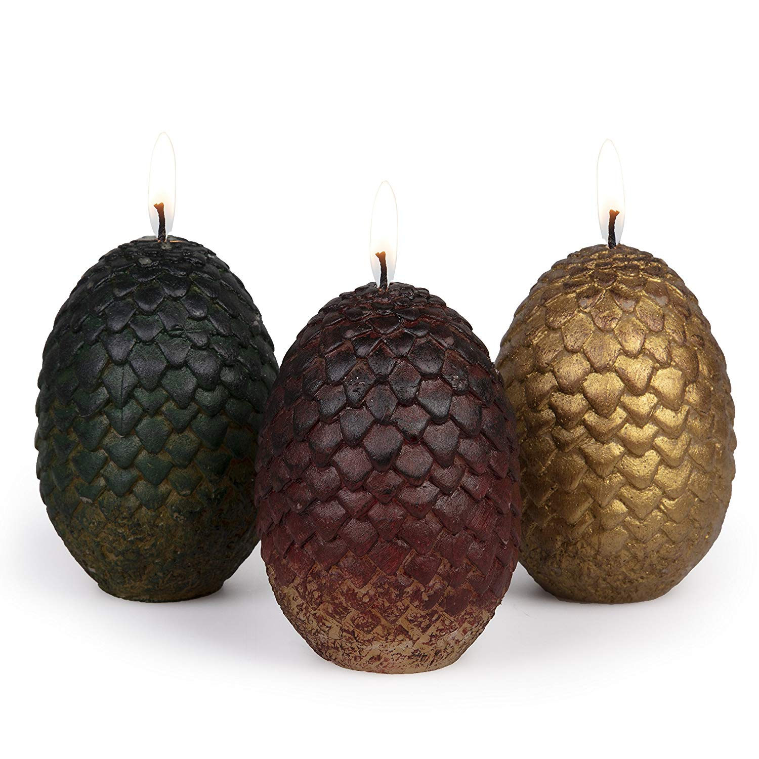 Game of Thrones Candles   GoT Dragon Eggs   Candle Junkies