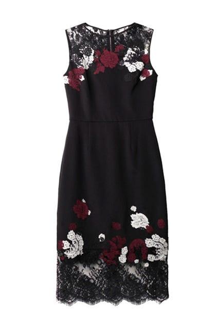 4f427073ccbf Cinq à Sept + Luna Strapless Embroidered Faille Midi Dress