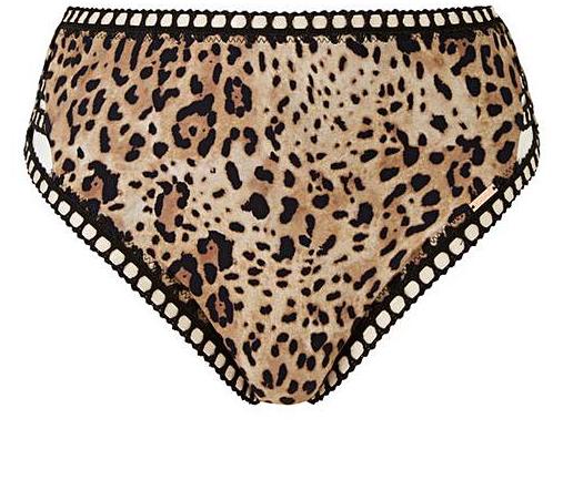 91dd6b708461e Curvissa + High Waisted Bikini Bottoms