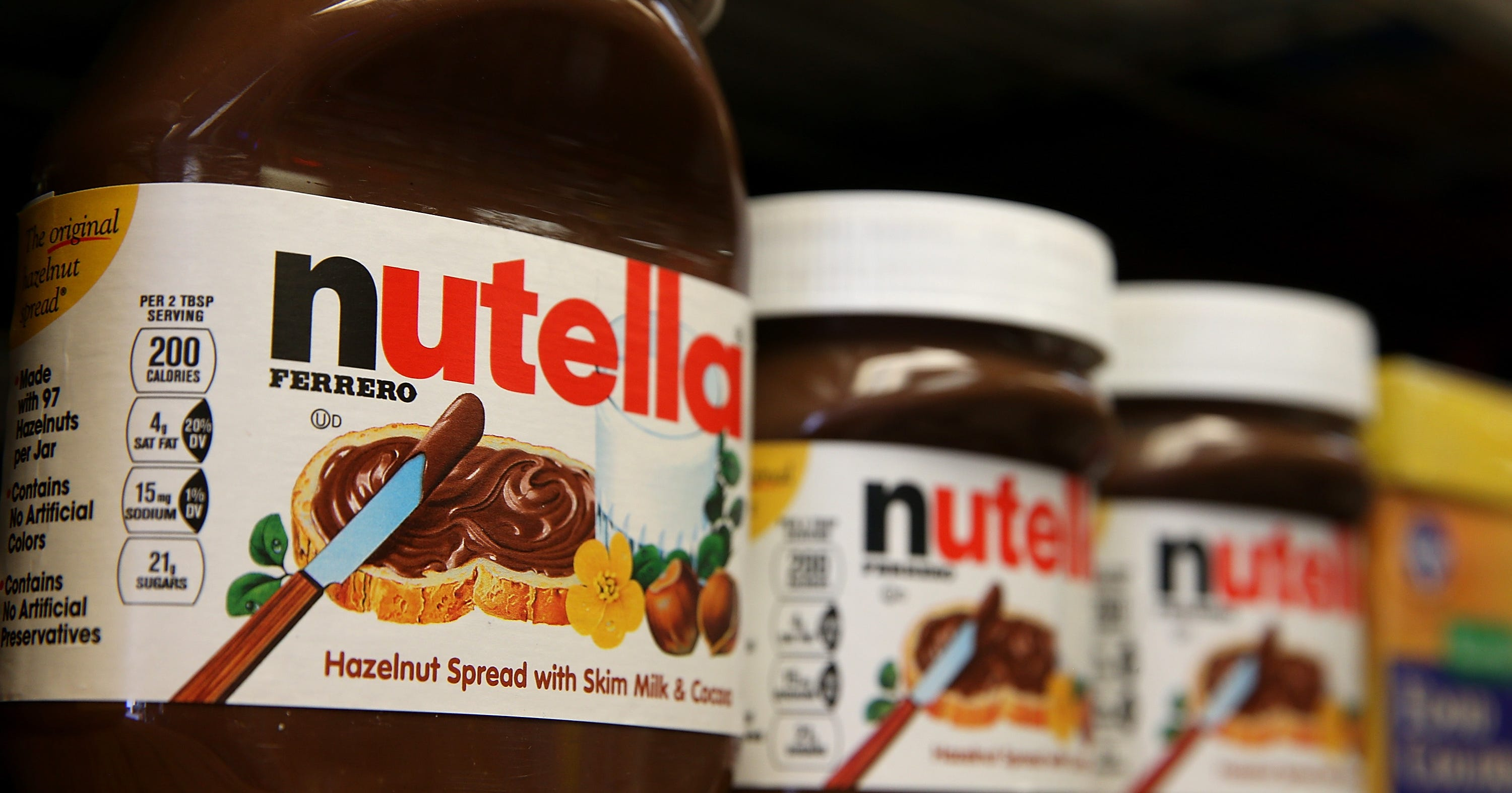 The FDA Wants You to Eat Less Nutella - Nutella Serving Size Change