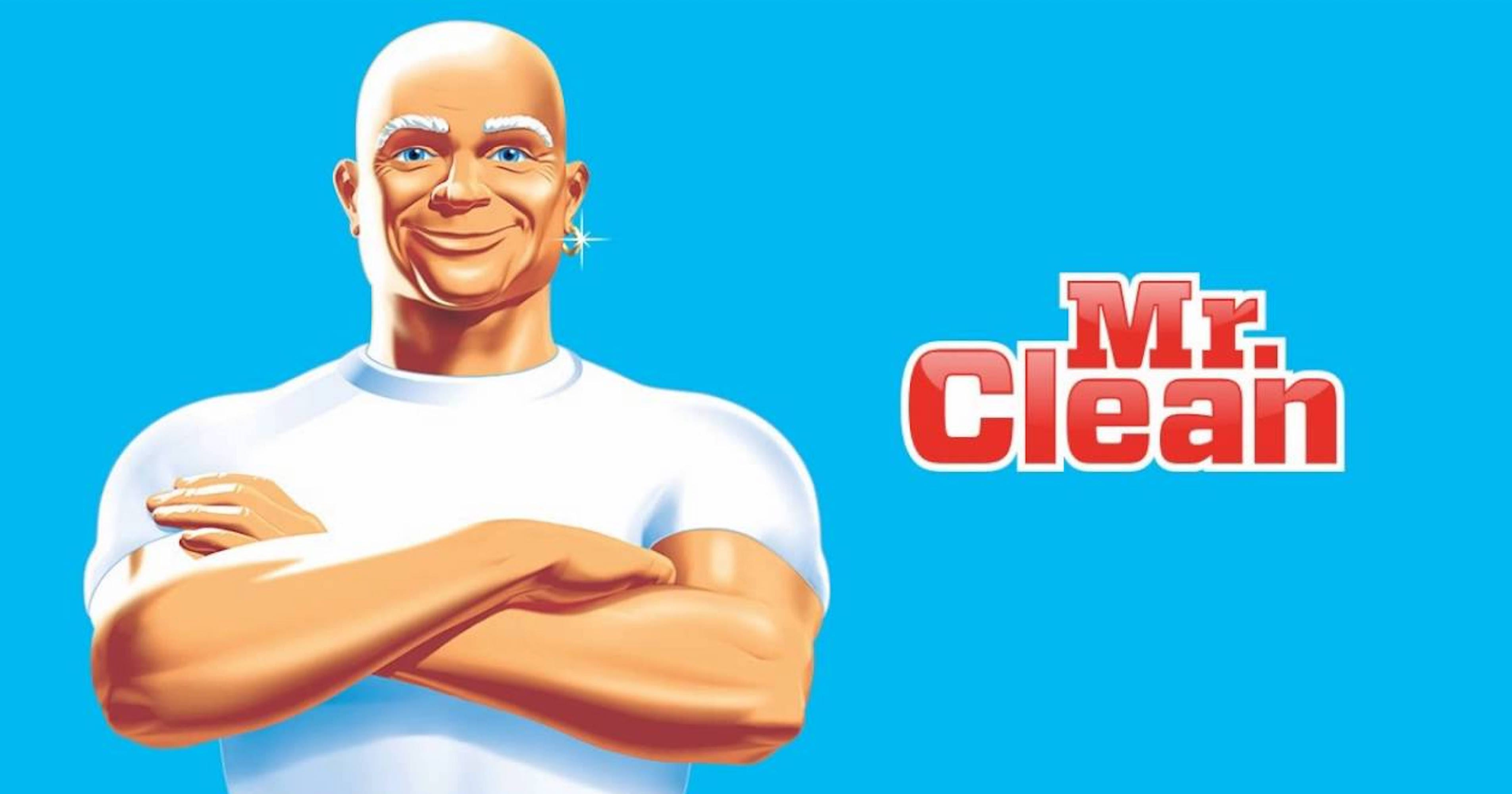 Mr Clean Cleaning Man Cartoon   Video Bokep Ngentot - photo #30