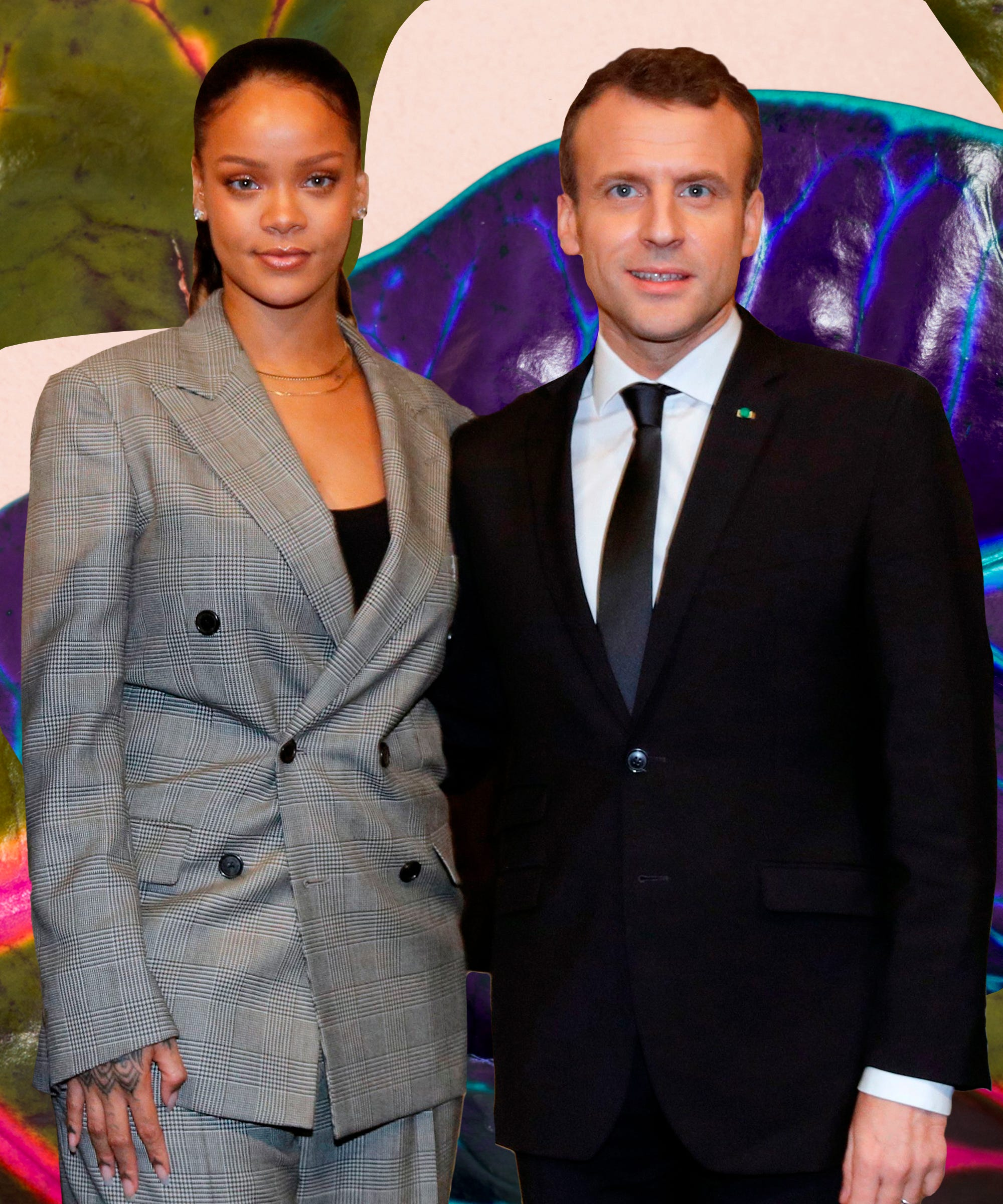 Rihanna Global Education Fund Partnership With France