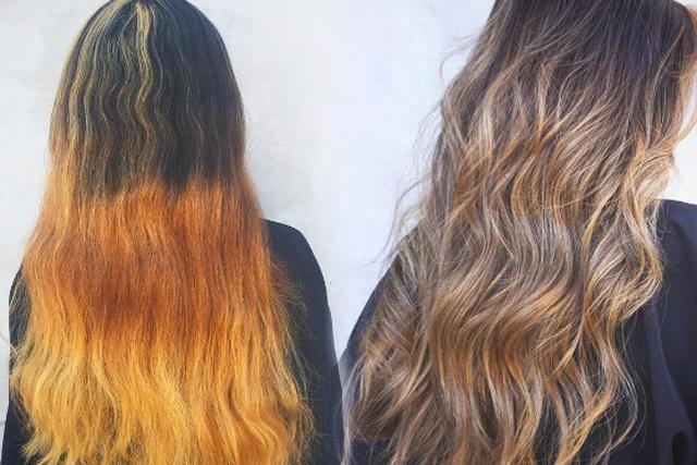 Strähnchen braune haare