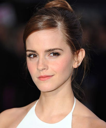 Emma watson touched up celebrity
