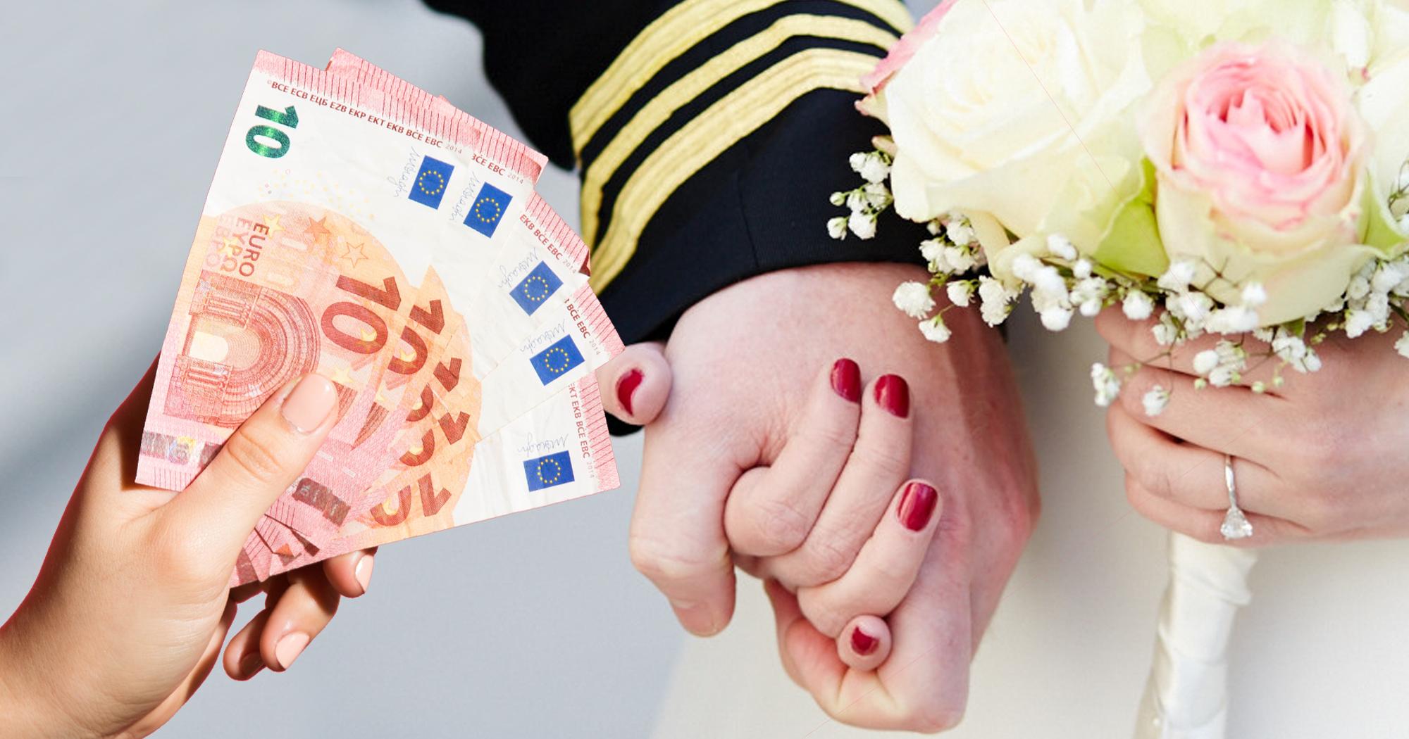 Hochzeit-Geschenk: Wie viel Geld sollte man schenken