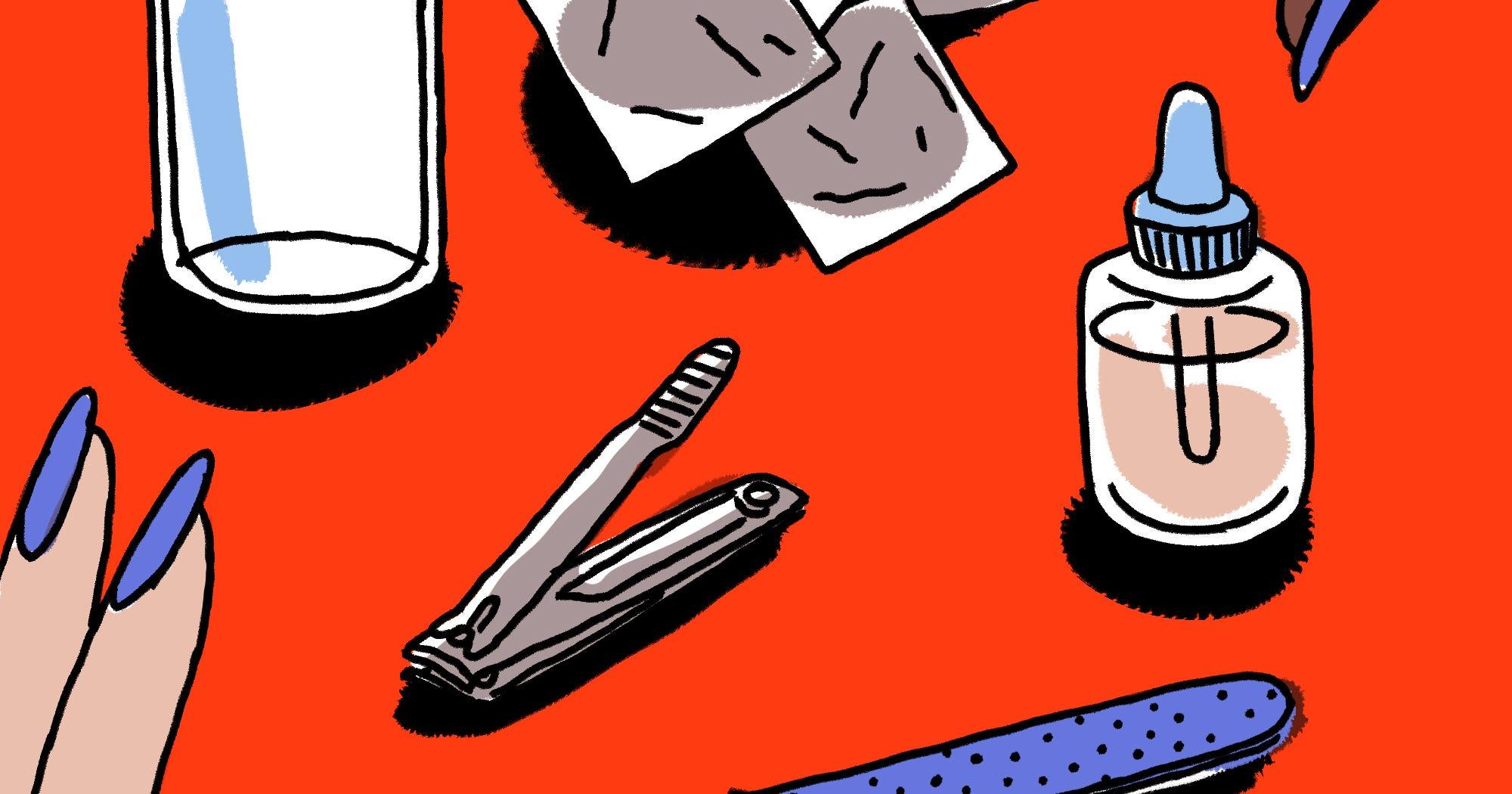 Tipps vom Profi: Eine Celebrity-Nagelpflegerin erklärt, wie du Gelnägel einfach zuhause entfernst