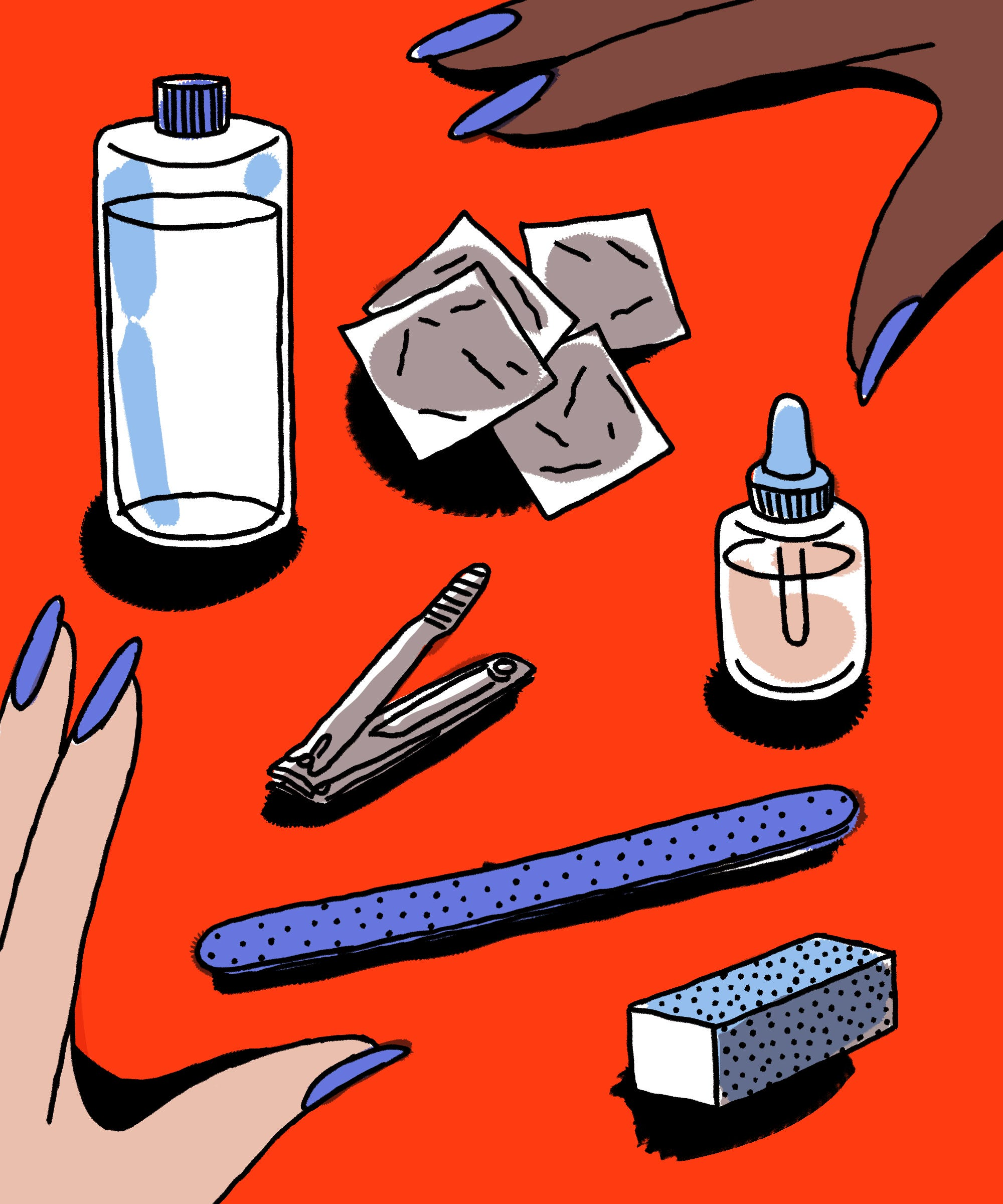 How To Remove Gel Nail Polish At Home Without Damage