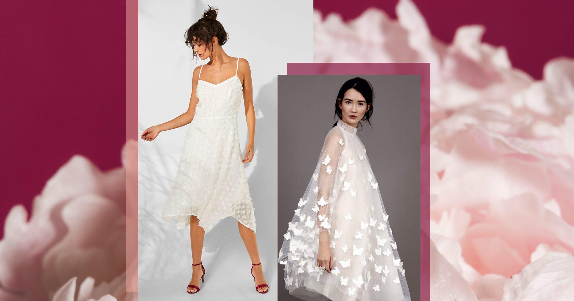 17 Hochzeitskleider für modebewusste Bräute