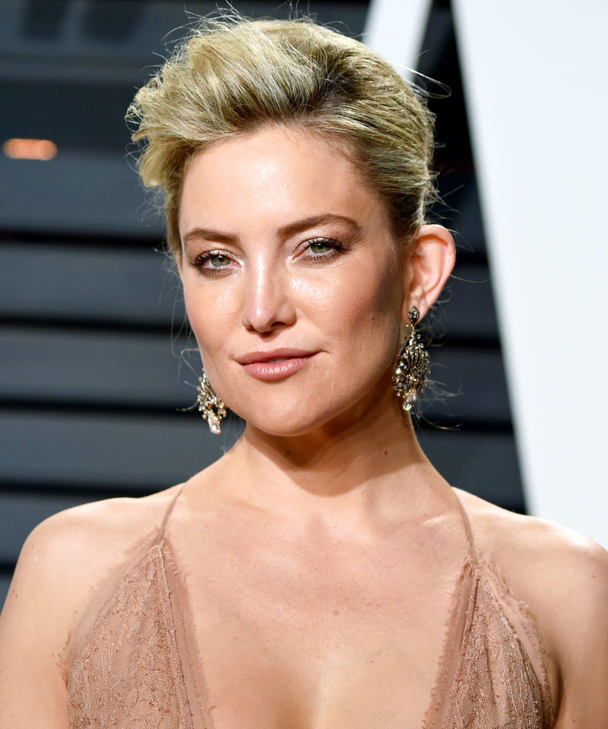 Kate Hudson Hair Plans Ellen Video - Buzz Cut, Mullet