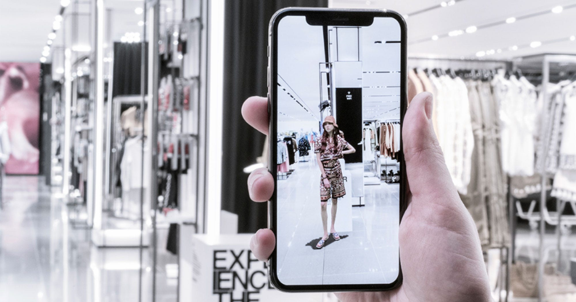 Augmented reality-app voor shoppers