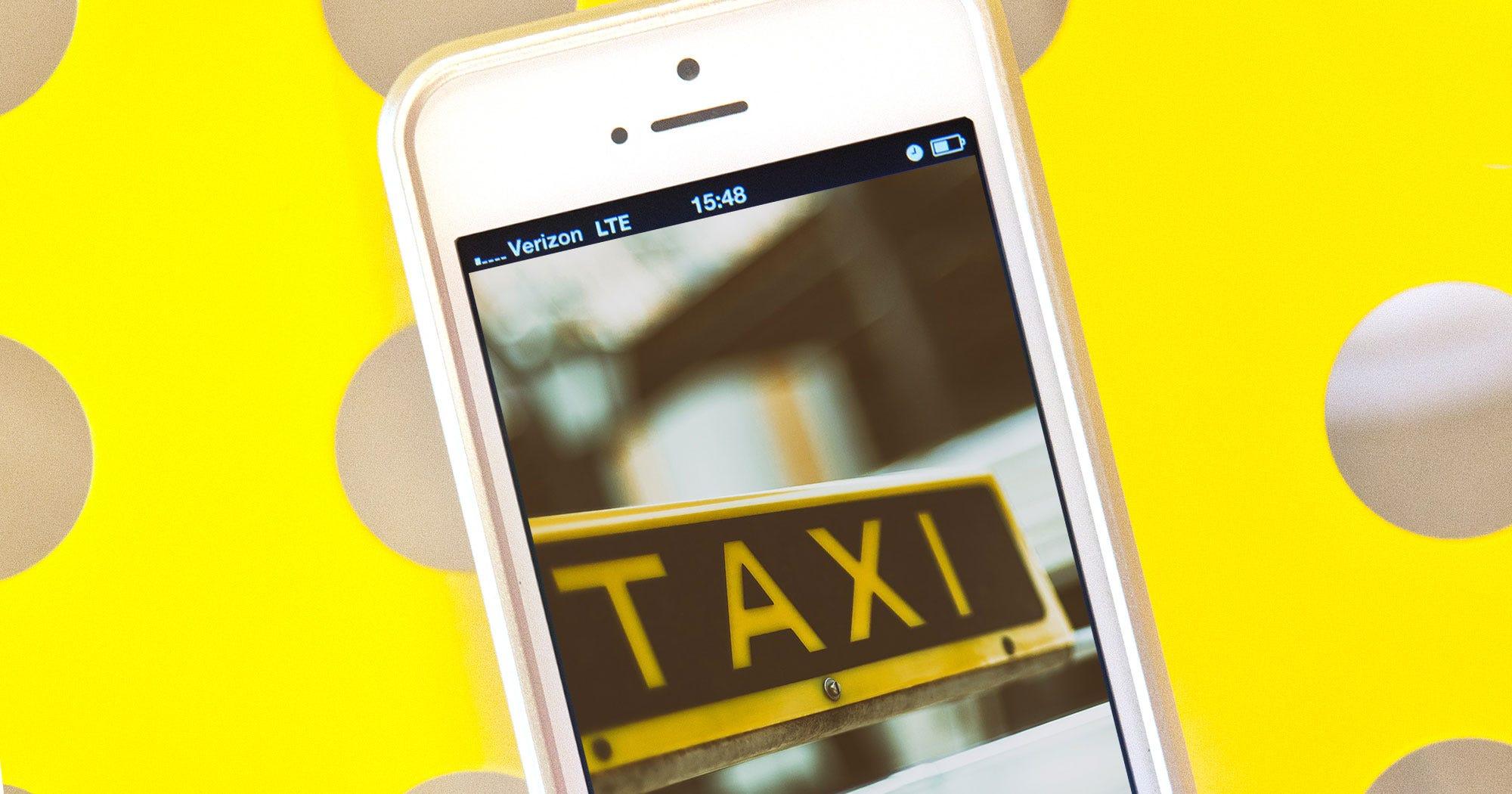 neue app macht taxifahren g nstiger f r alle. Black Bedroom Furniture Sets. Home Design Ideas