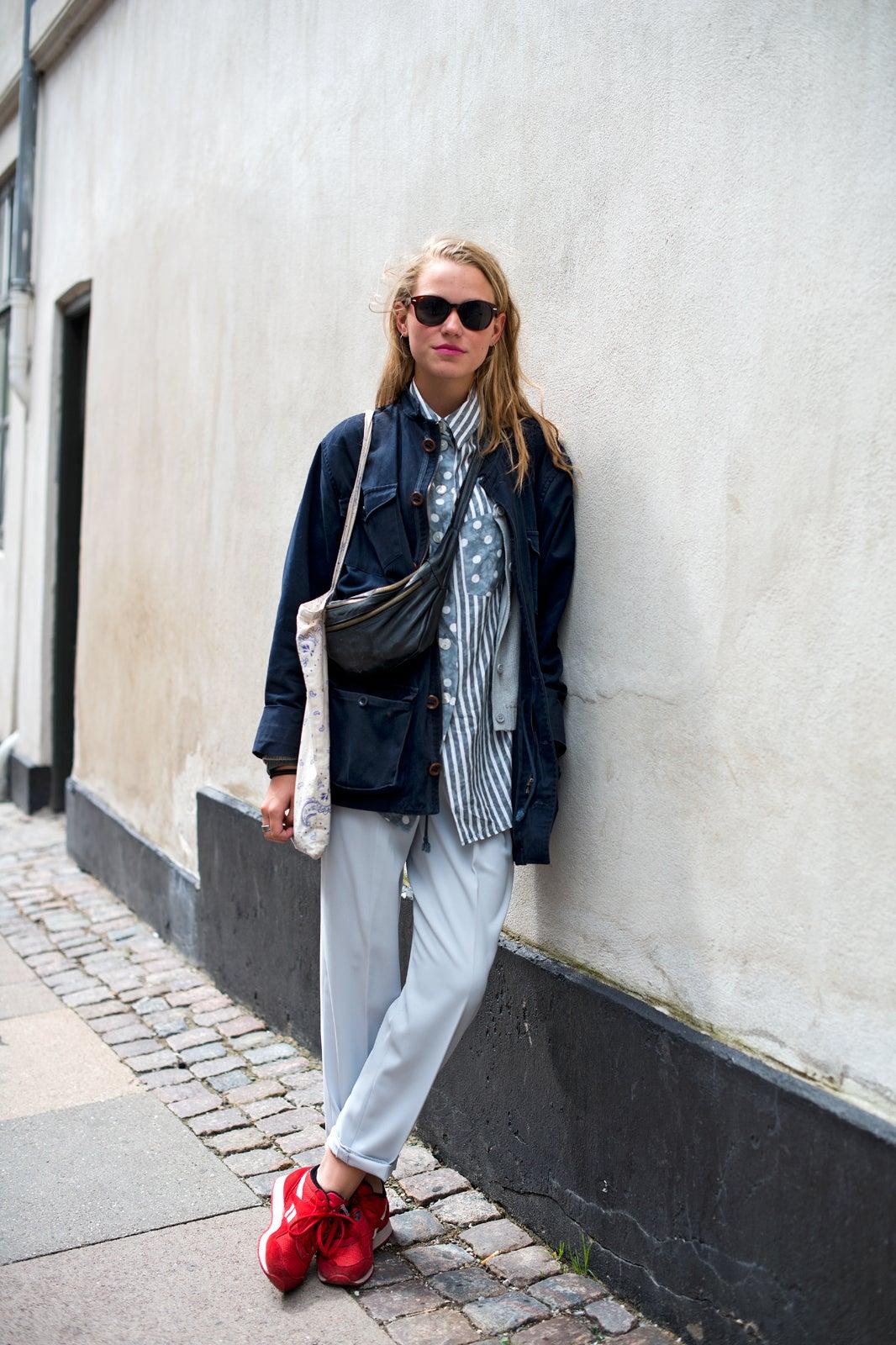 Copenhagen Street Style Sneaker Fashio From Denmark