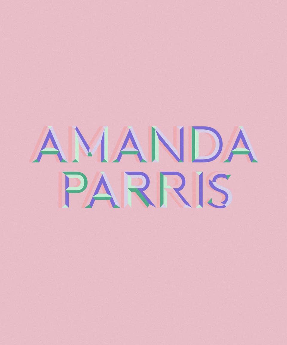 Graphic of the name Amanda Parris