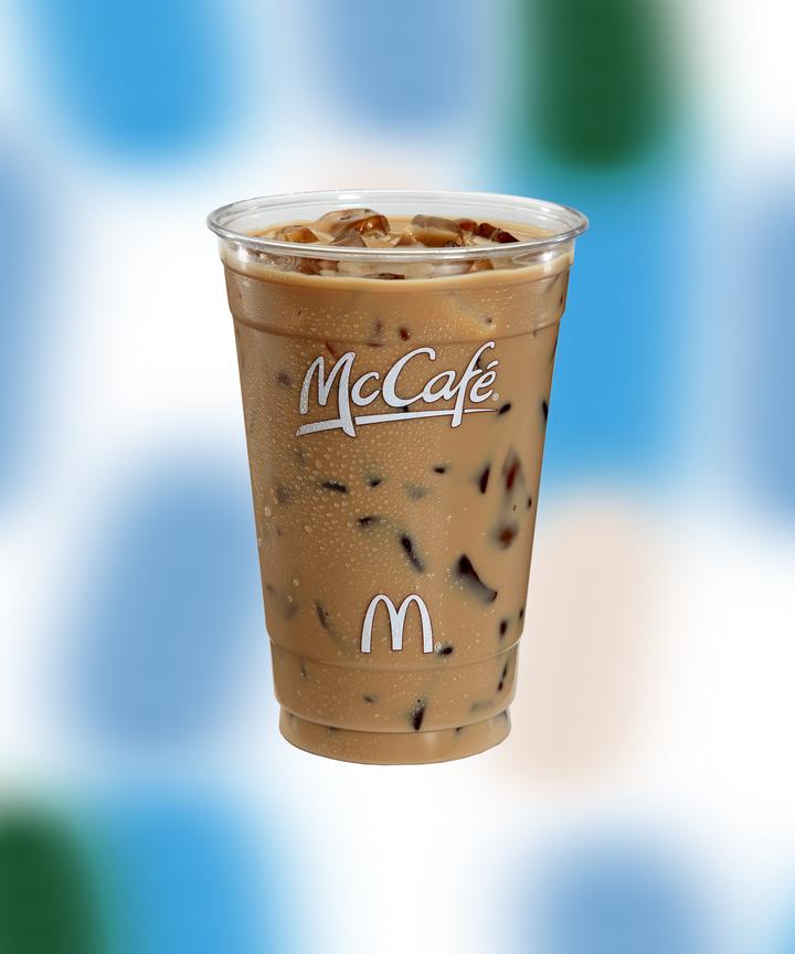McDonalds McCafe Secret Menu Drink Shamrock Iced Coffee