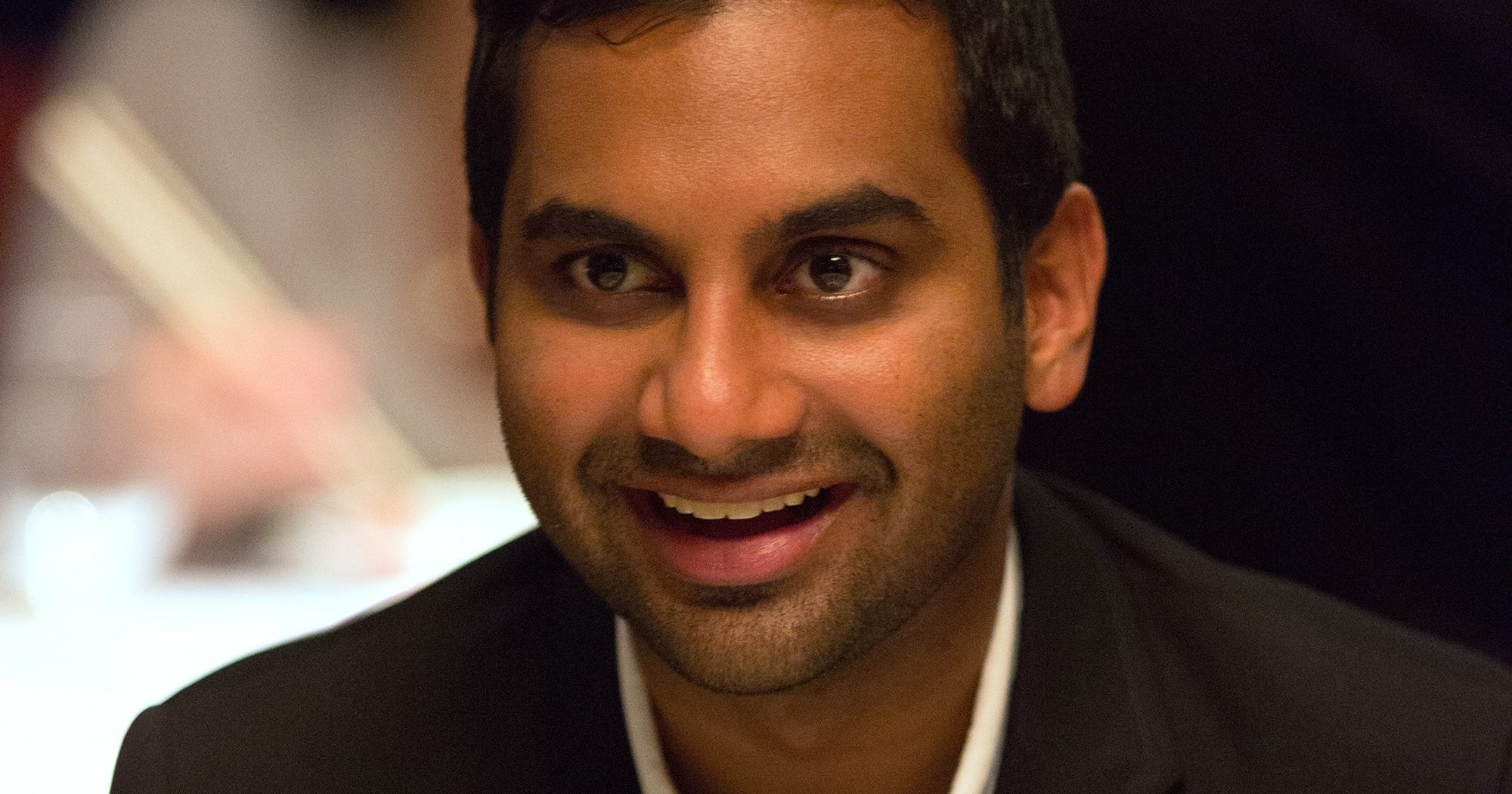 aziz ansari harris college essay video By now, aziz ansari's real parents have become regular guest stars on master of none, but you may have missed another familial cameo in the show's newly released season 2 ansari's cousin, harris.