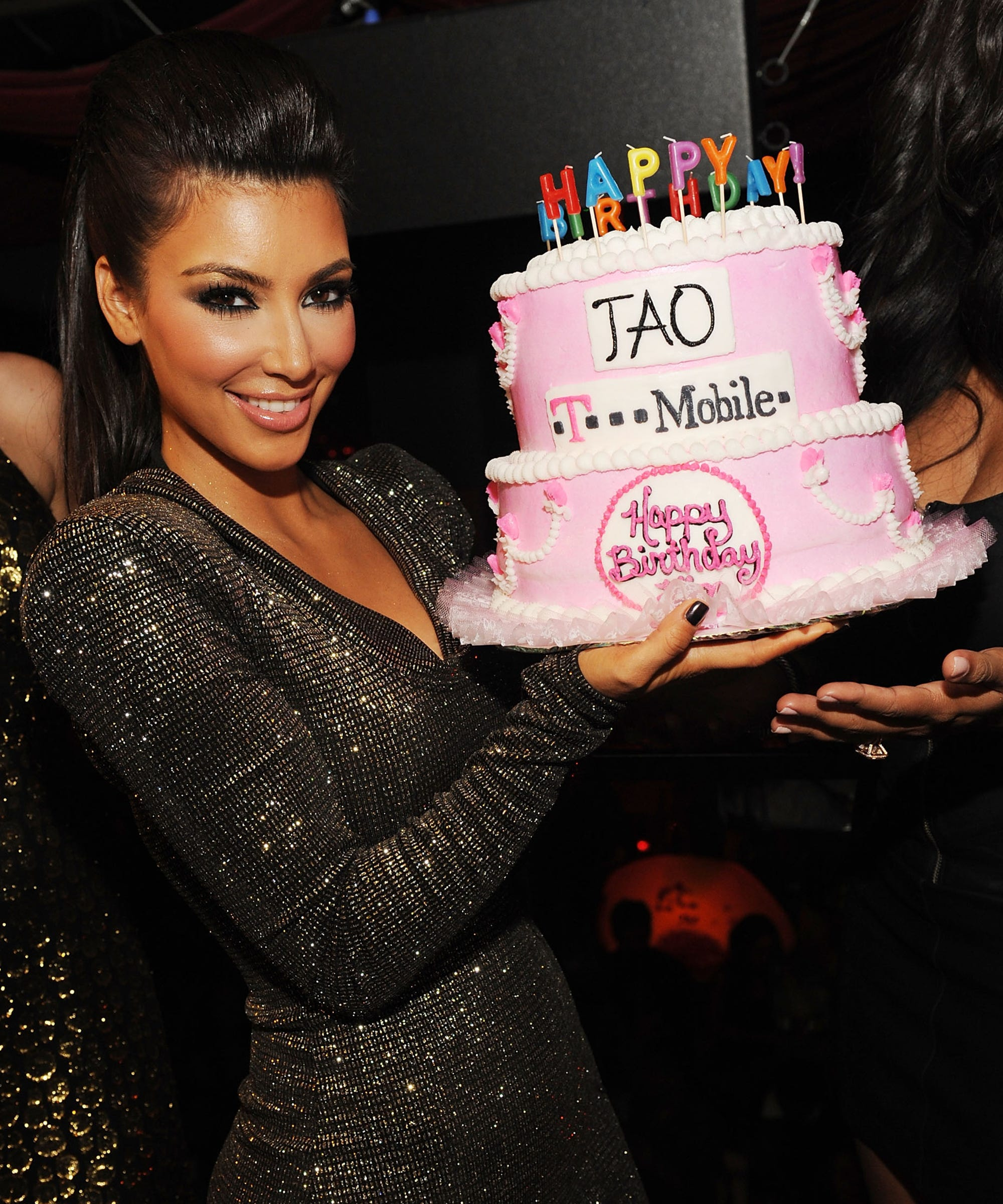 Tremendous Best Kim Kardashian Birthday Cakes Through The Years Personalised Birthday Cards Arneslily Jamesorg