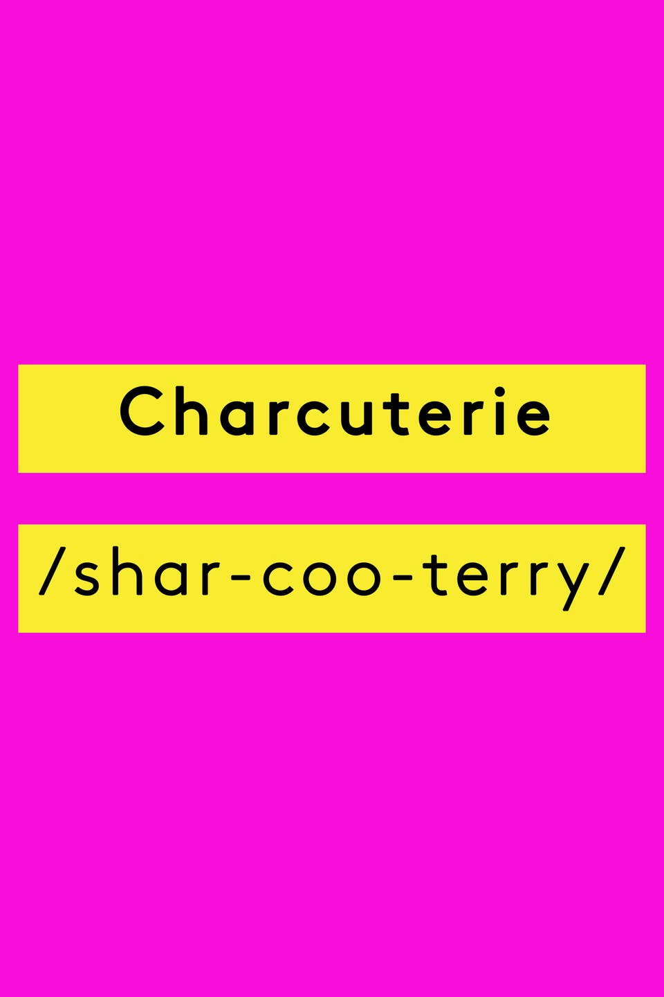 Food Vocabulary - How To Pronounce Culinary Terms