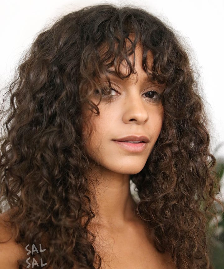 fringe styles for curly hair hair ideas trends 2018 accessories shag blunt bangs 8224
