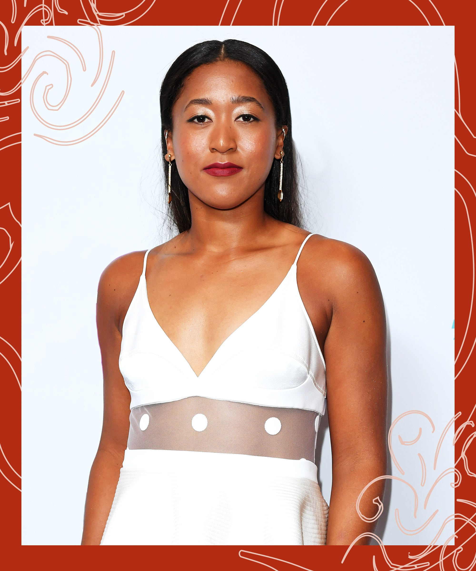 Ashley Salazar Nude Photos naomi osaka is all about low-maintenance beauty