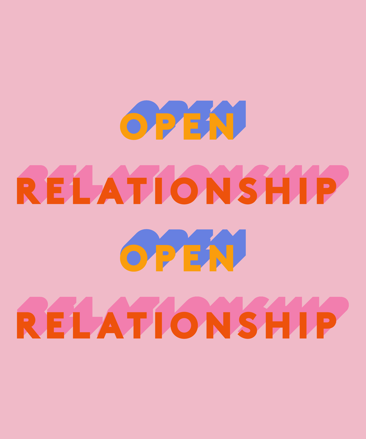 in an open relationship means