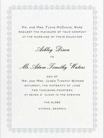 How To Write A Wedding Invitation Wording Language