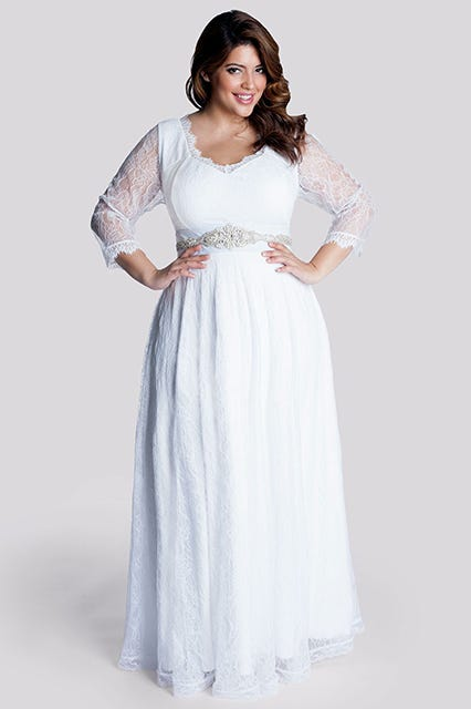 Igigi Rosalie Plus Size Wedding Gown