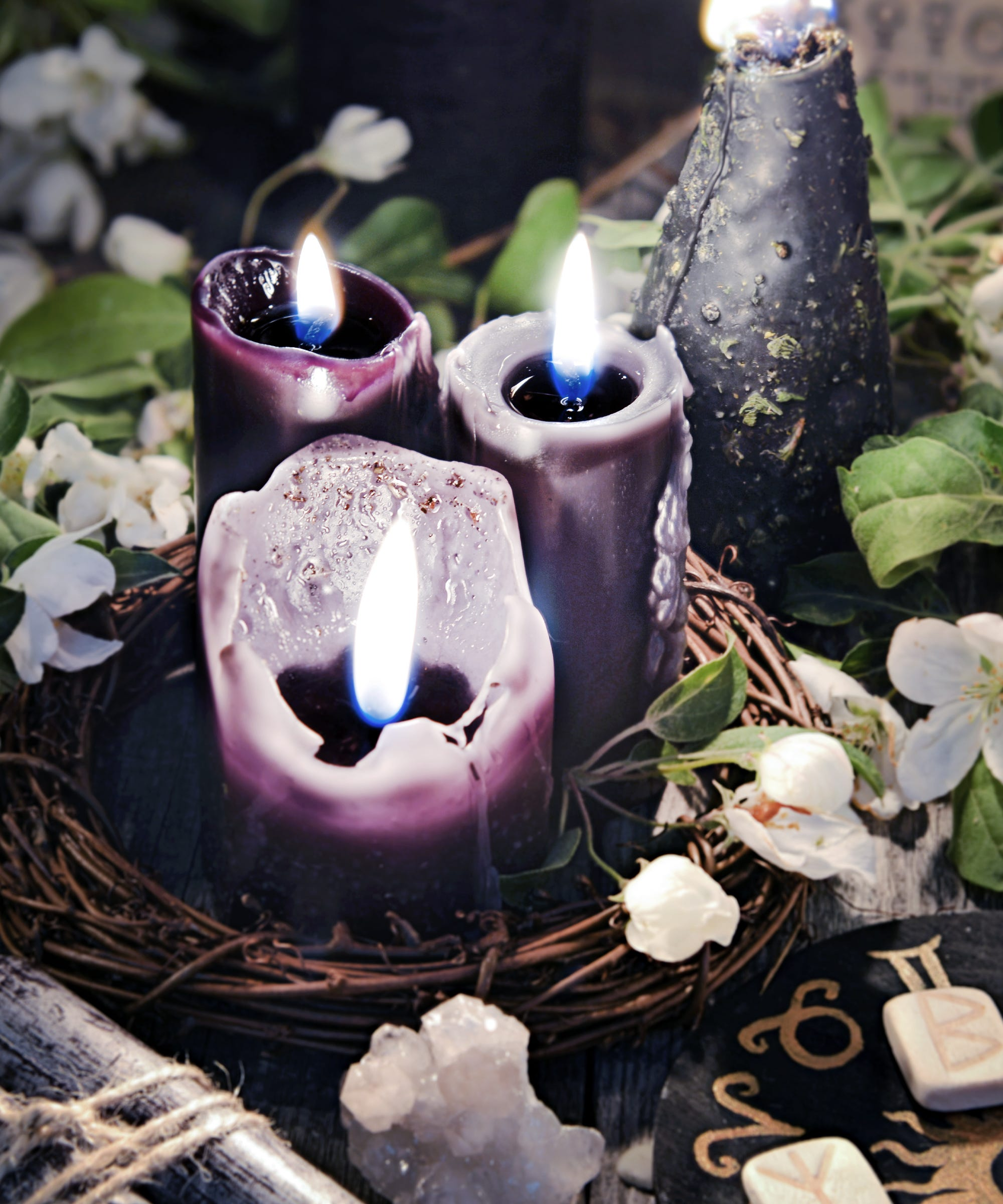 Candle Magic Spells, Color, Flame Meaning For Beginners