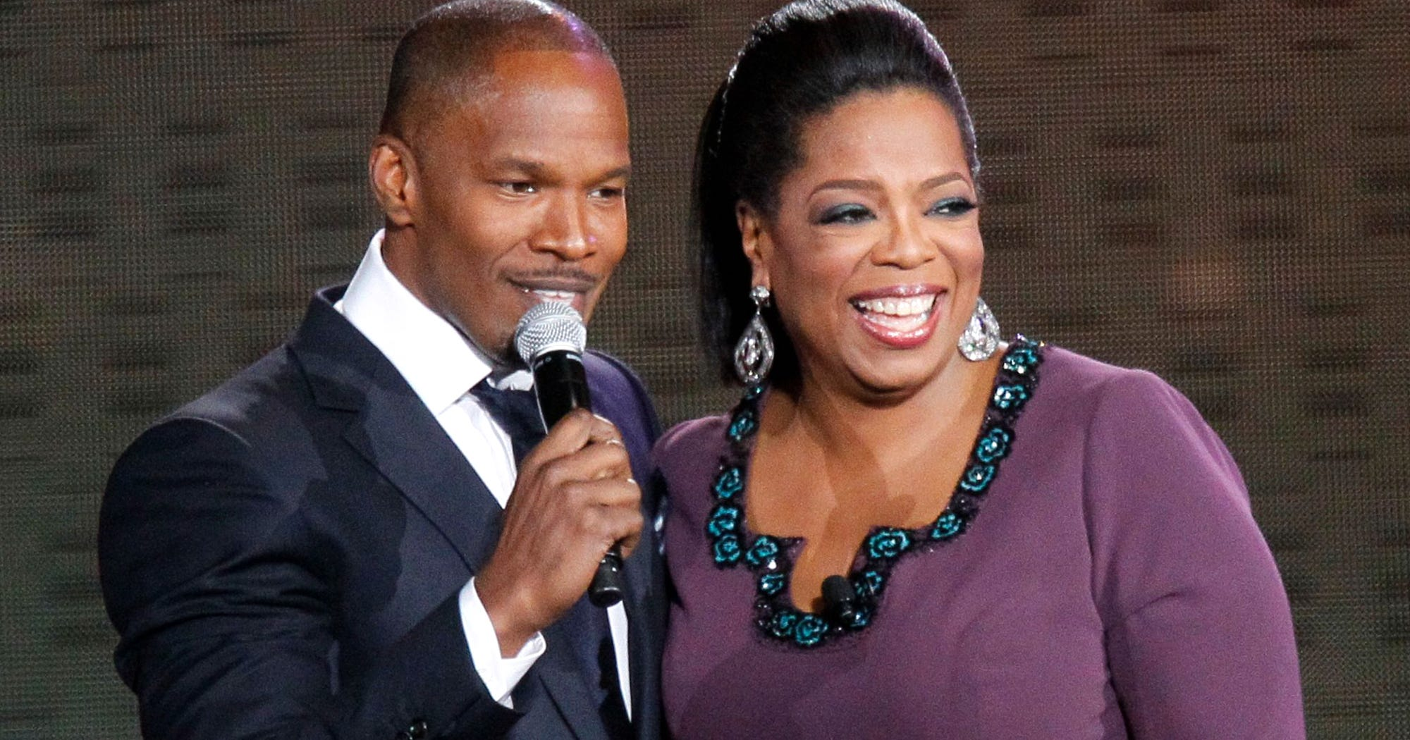 """Oprah Staged An Intervention For Out-Of-Control Jamie Foxx: """"You're Blowing It"""""""