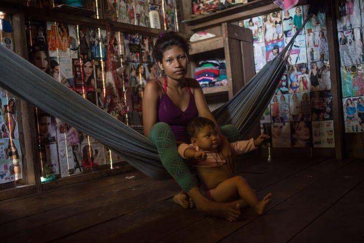 Amazon Tribe Girls First Menstruation Isolation