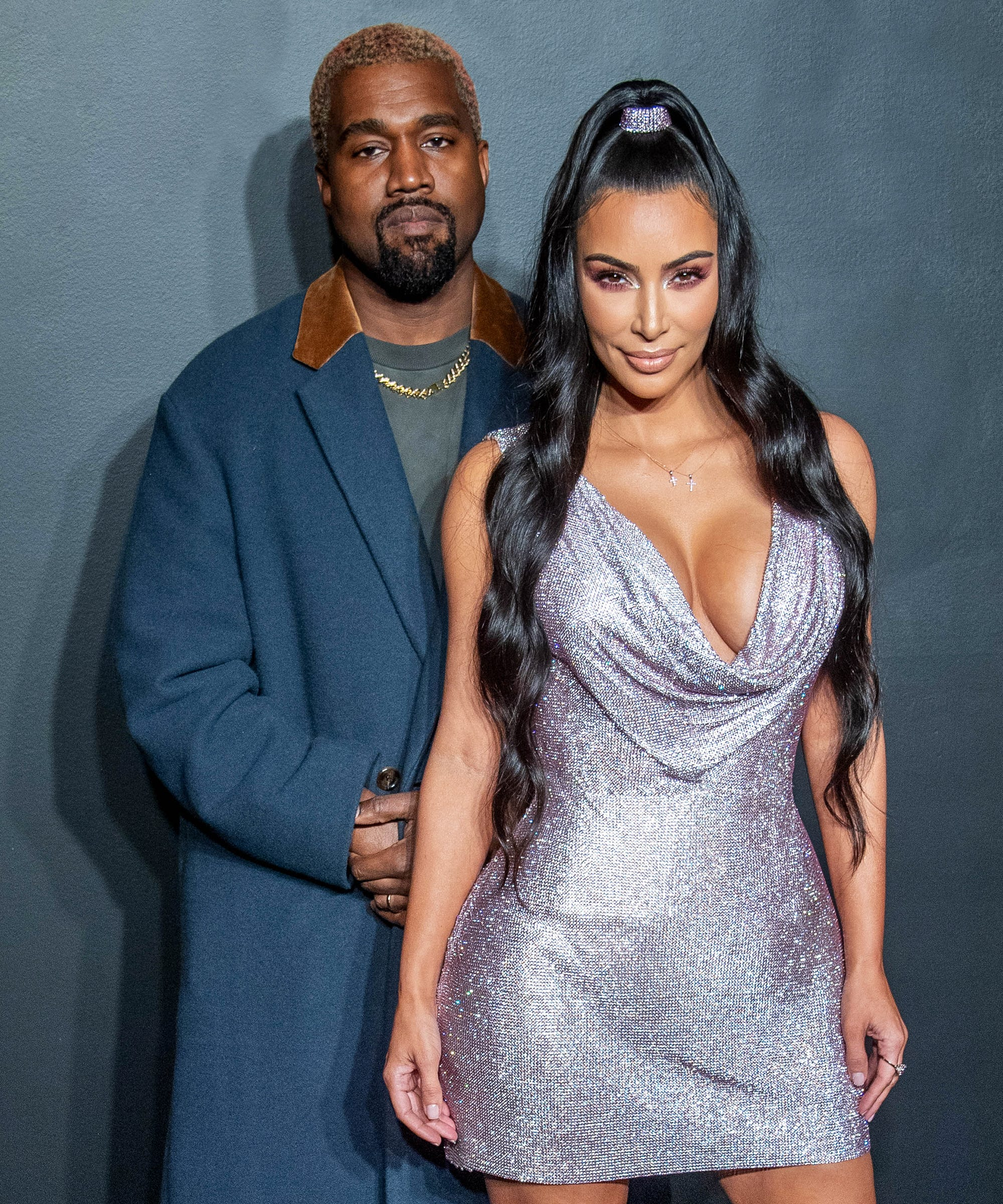 are kim kardashian kanye west at the 2019 grammys are kim kardashian kanye west at the