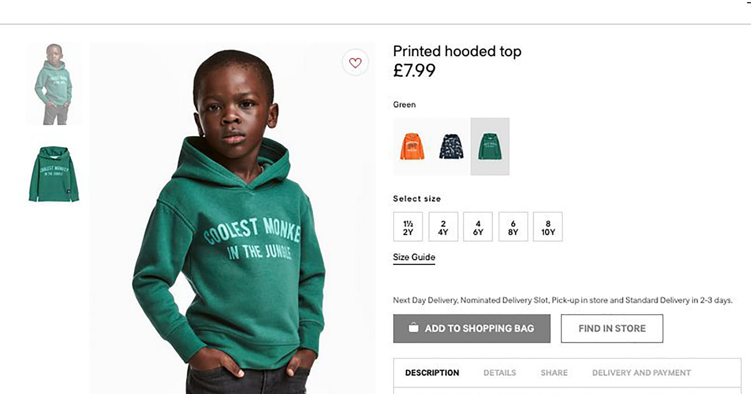 H&M Racist Monkey Sweatshirt Controversy 1 Year Later