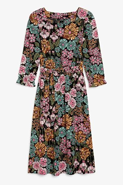 3799cd2382e Rixo London + Fedora Printed Silk-jacquard Midi Dress