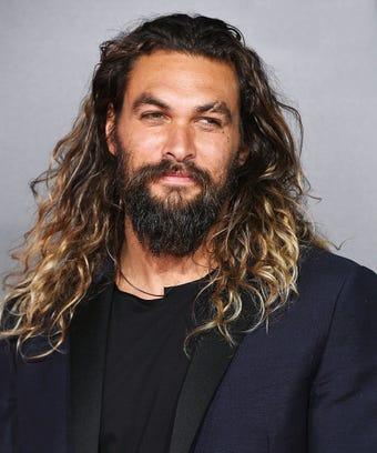 Jason Momoa Ombre Hair Color