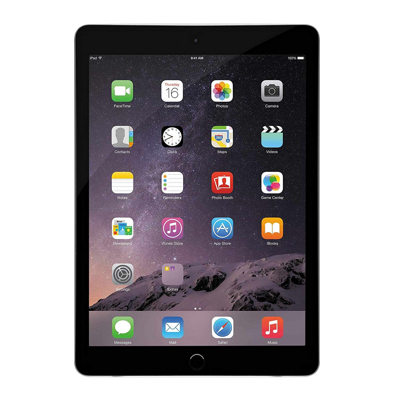 Apple + iPad Air 2 16 GB in Space Gray (Renewed)