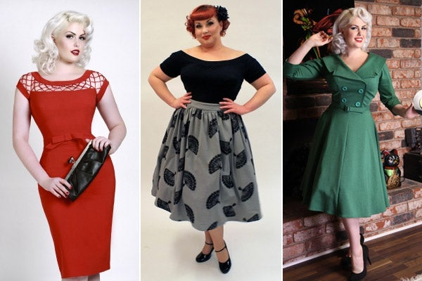 Pin-Up Fashion- Plus Size Pin Up Fashion
