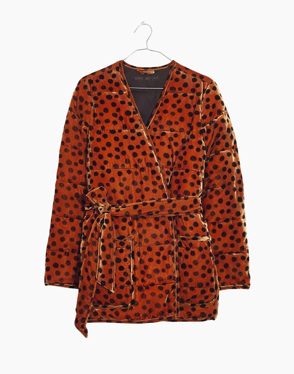 bd479be6b50b4 Madewell + Velvet Quilted Kimono Jacket