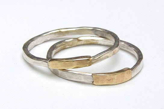 The Coolest Wedding Rings From Etsy