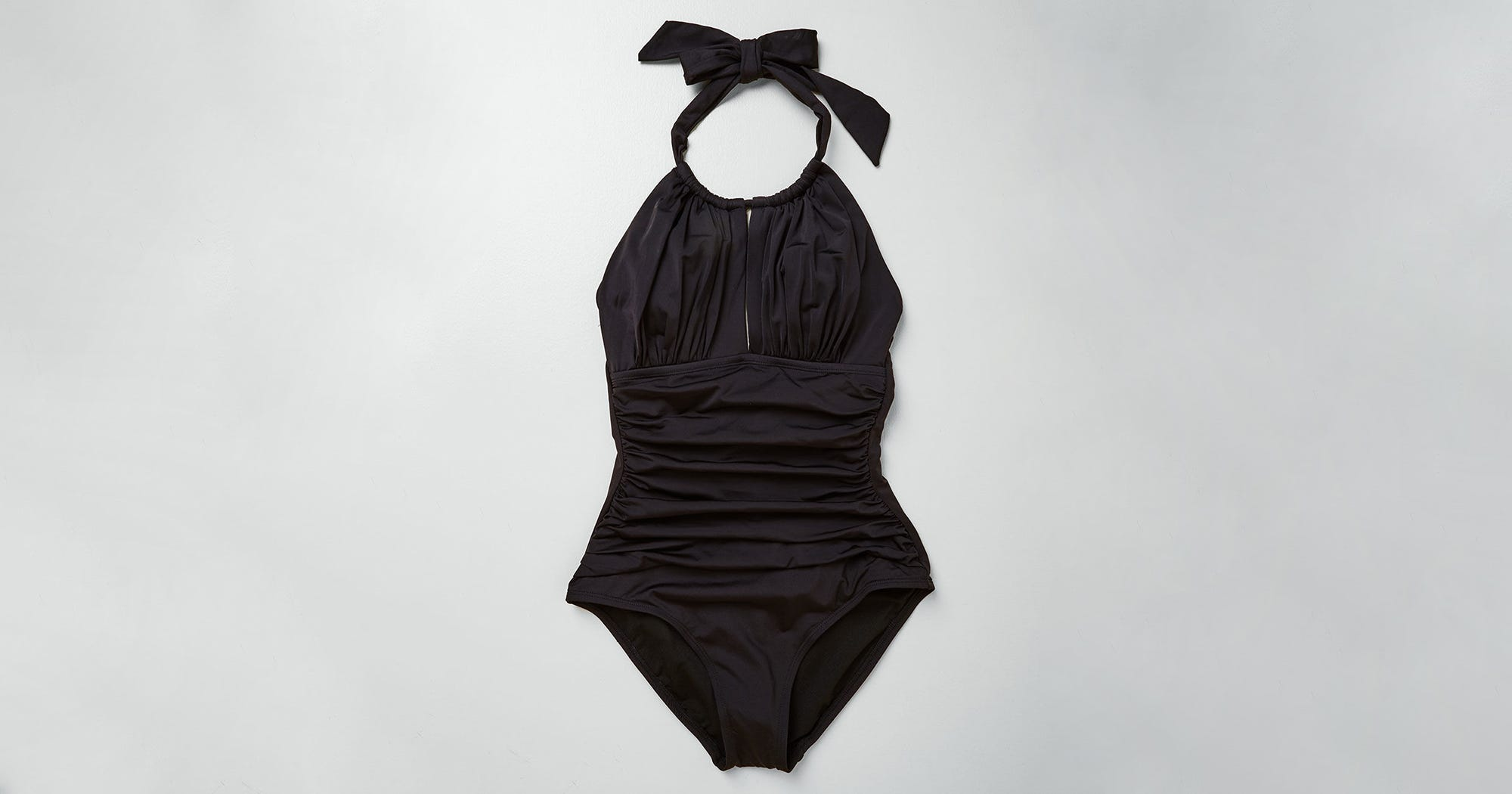 The Top Black One-Piece Swimsuits According To People Who Prefer To Try On At Home