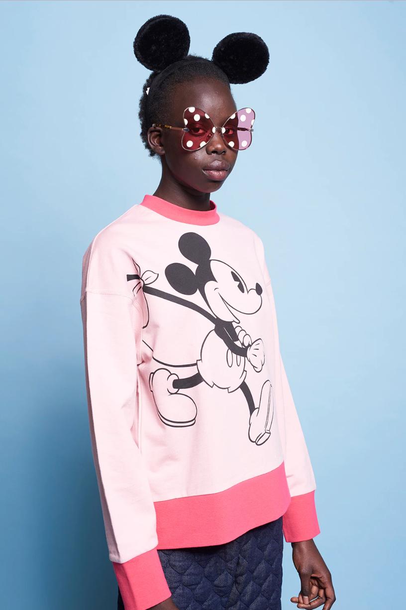 a5c096e0fd27 Disney x Karen Walker + Classic Mickey Oversized Sweatshirt
