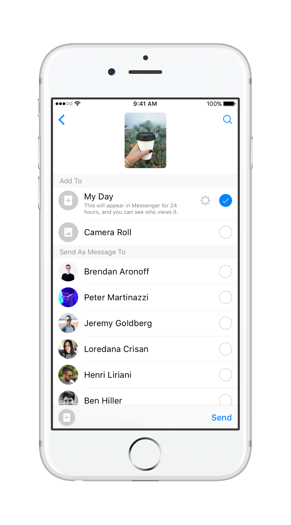 Facebook Messenger Day Tips - How to Use, Send Stories