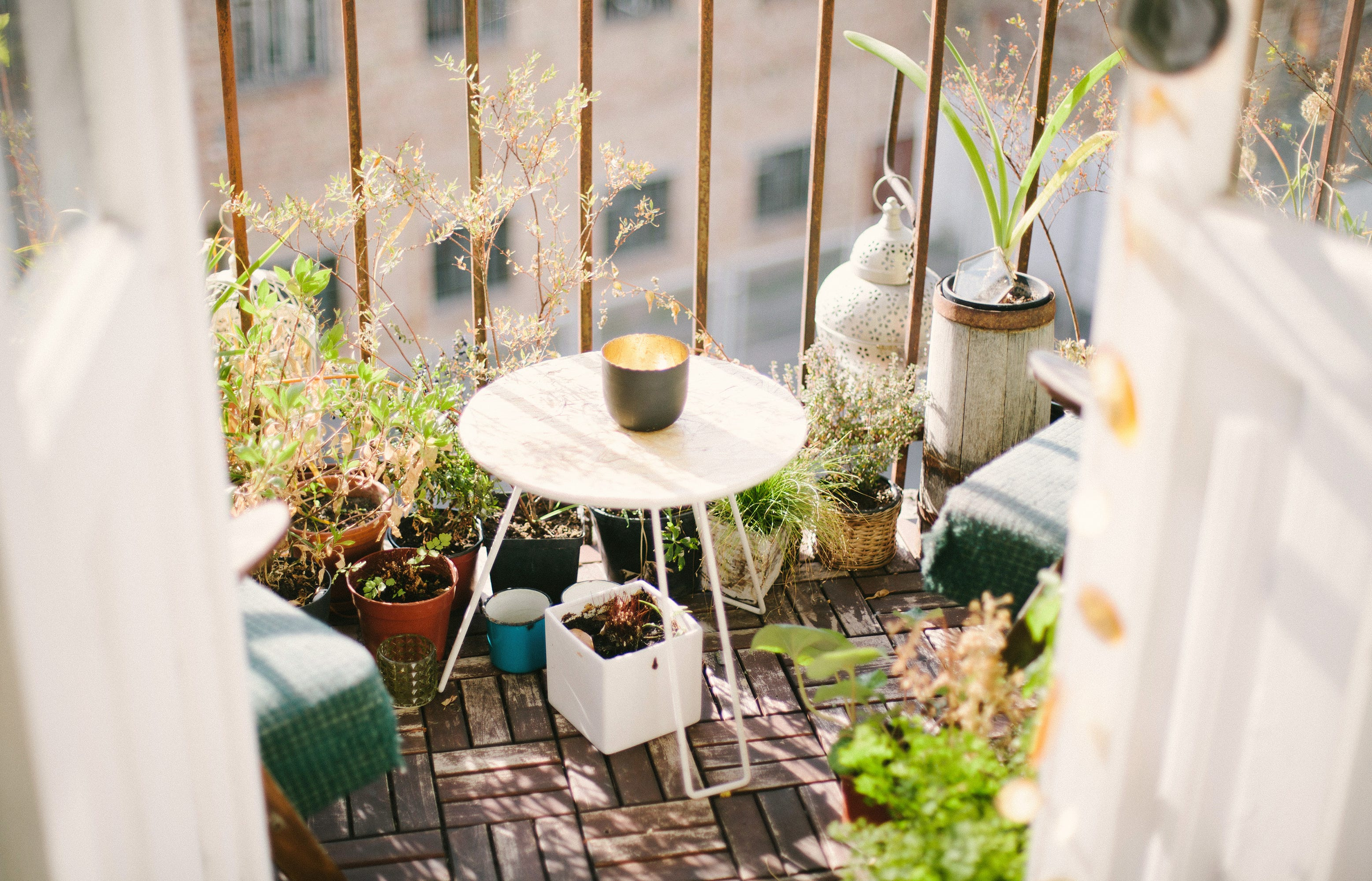 Cheap Budget Small Balcony Ideas