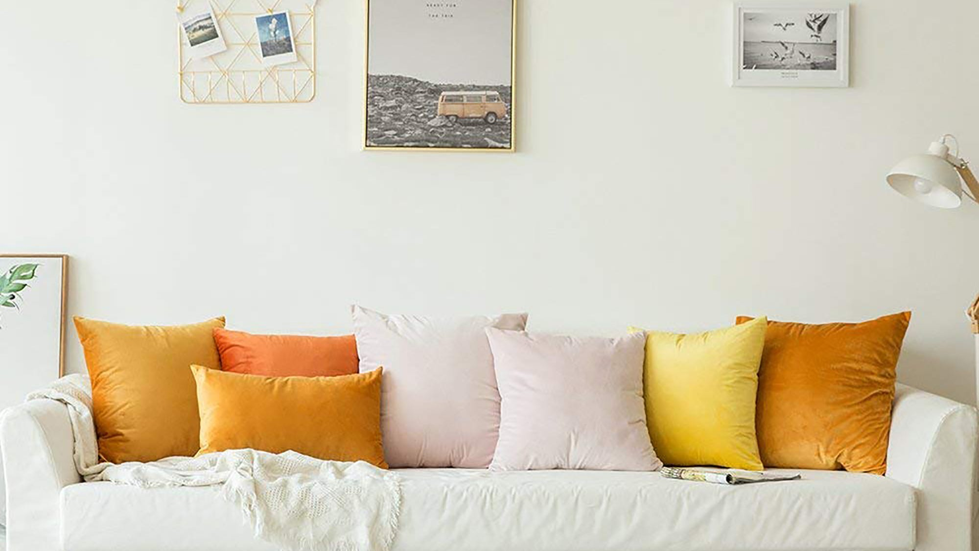 Cheap Throw Pillows For Couch Or Bed Decor Under 30