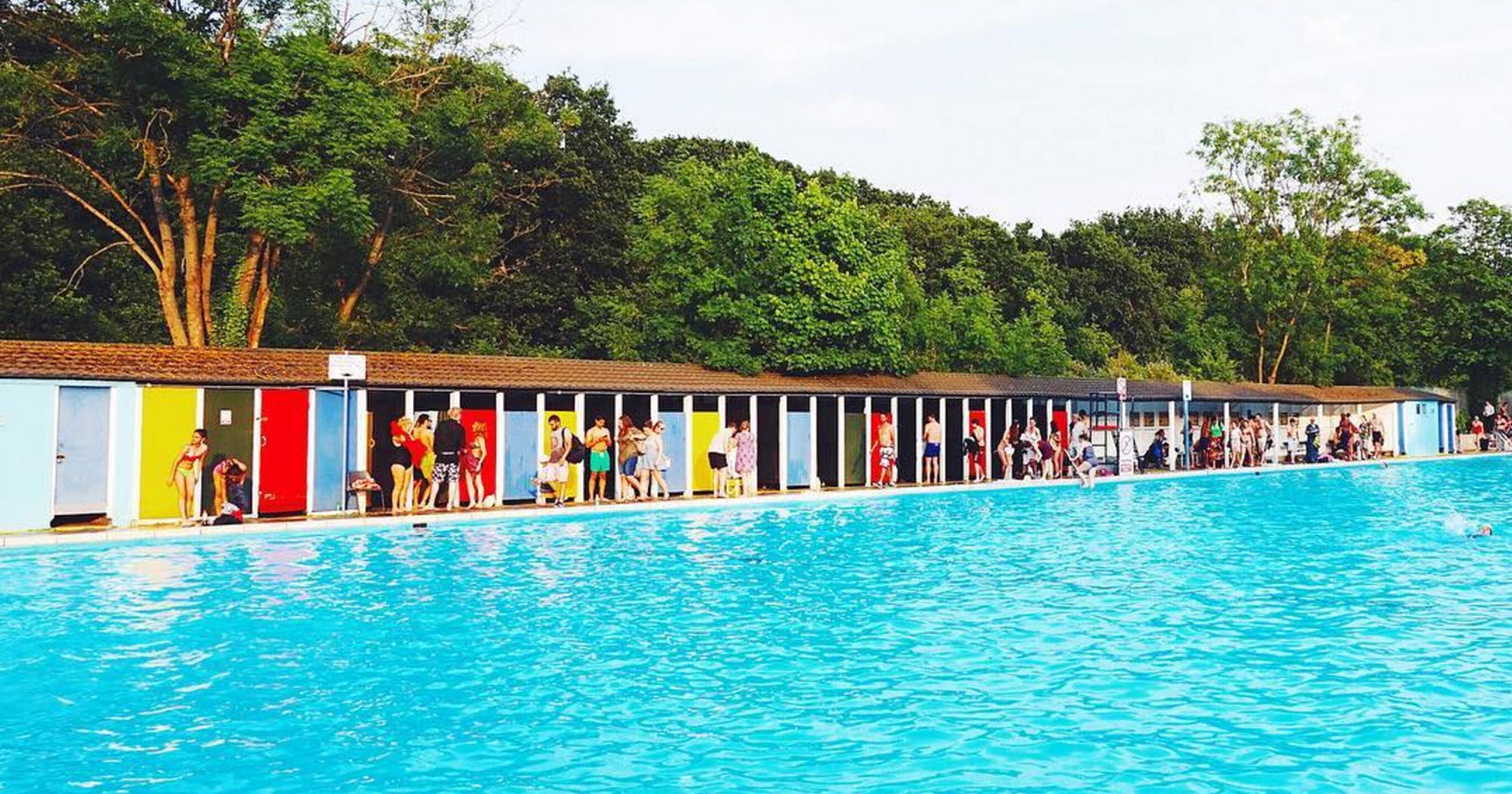 London 39 S Best Outdoor Swimming Pools Lidos