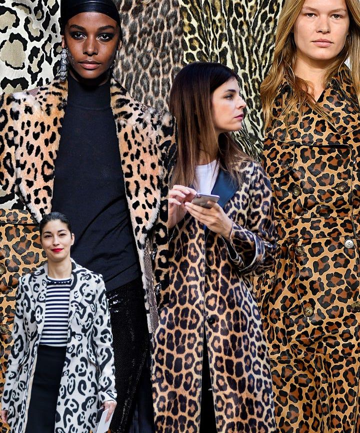 Leopard Print Coat Fall 2018 Street Style Trend