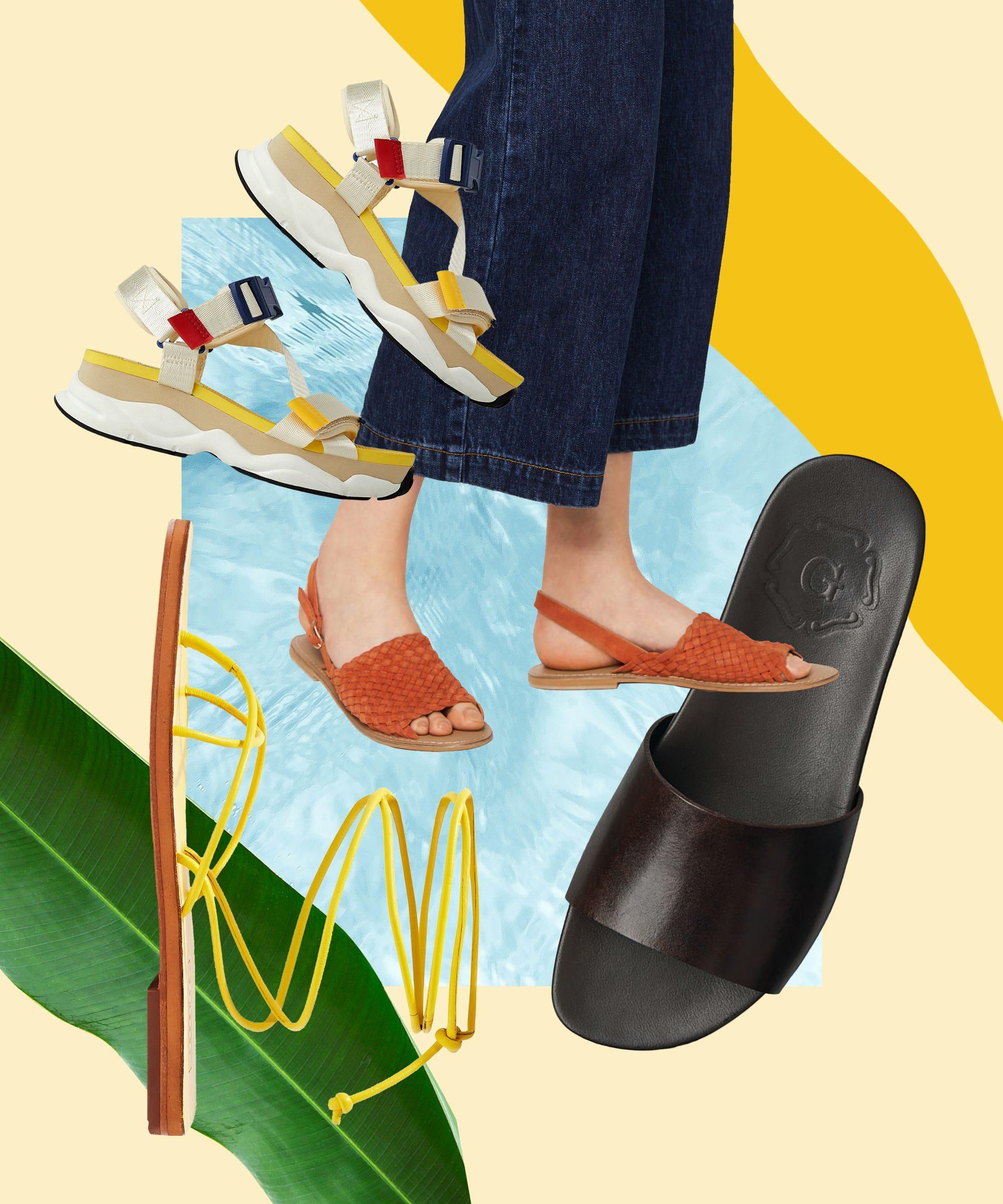 Best Flat Sandals UK - Summer Trend 2020