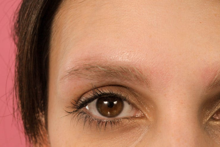 Eyebrow Bleach Before After - Brow Dyeing Photos