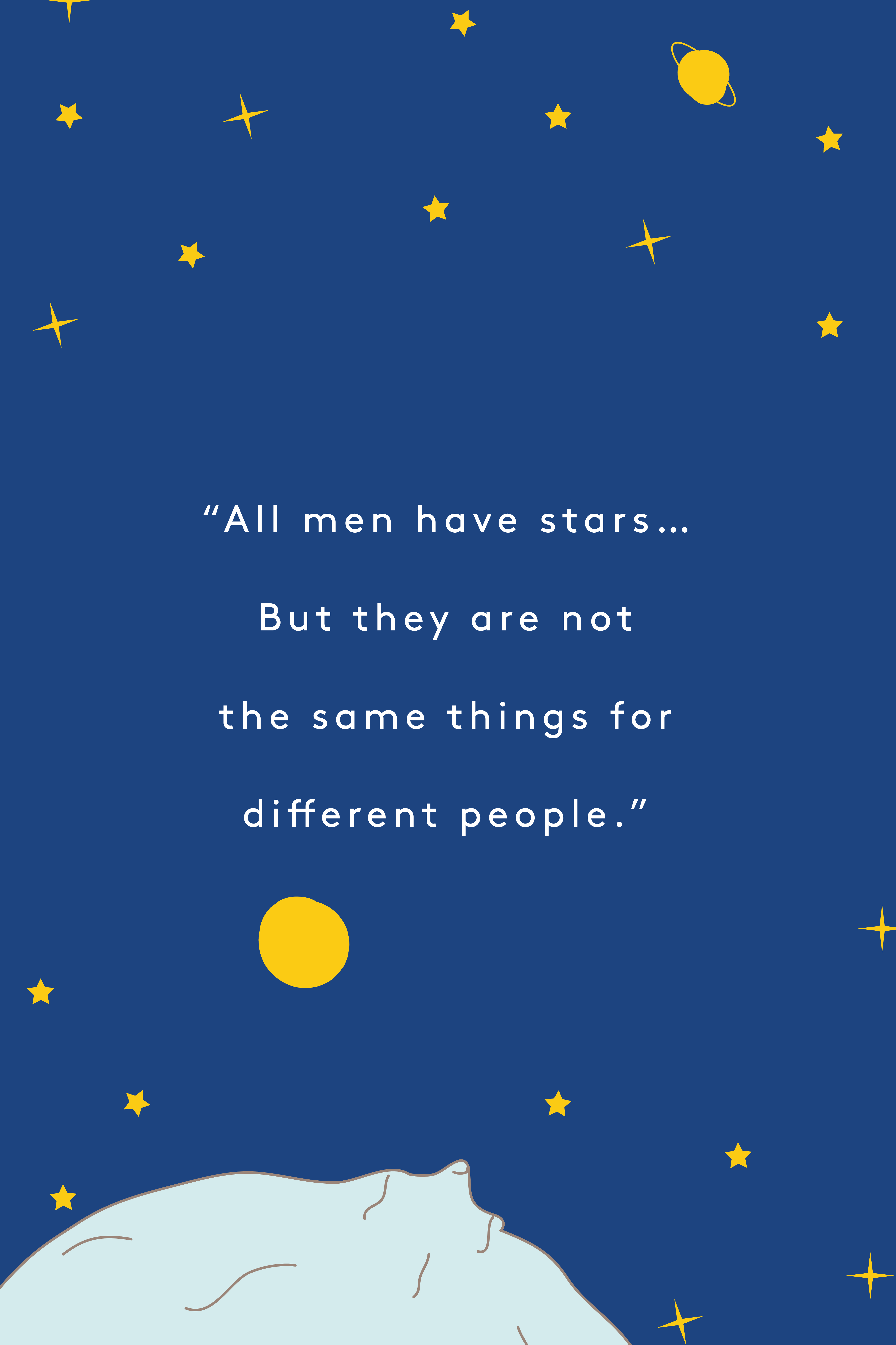 The Little Prince Quotes, Inspirational Sayings
